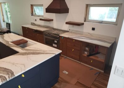 Installing Stone Counters